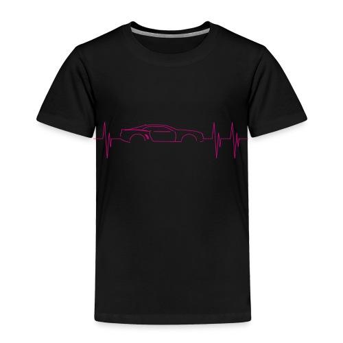 5th Generation Camaro Heartbeat Pink - Toddler Premium T-Shirt