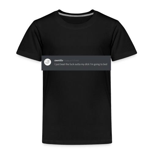 Own It TV Official Merch - Toddler Premium T-Shirt