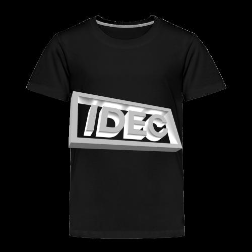 3D IDEC Logo - Toddler Premium T-Shirt