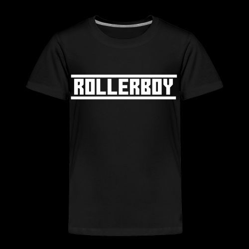 Exclusive ROLLERBOY NAME LABLE - Toddler Premium T-Shirt