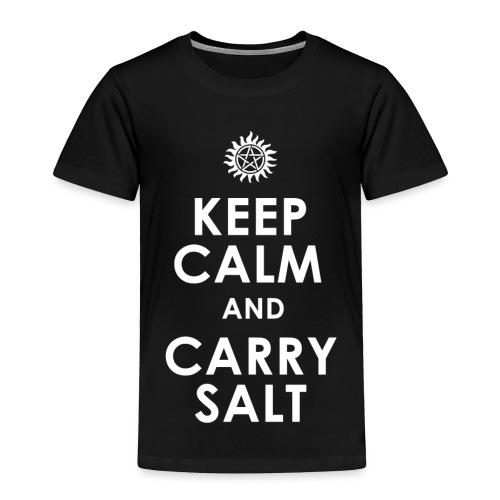 keep calm and carry Salt - Toddler Premium T-Shirt