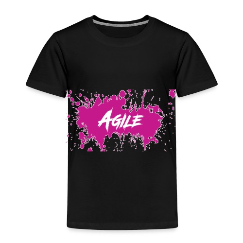 AgileNation Splatter Design - Toddler Premium T-Shirt