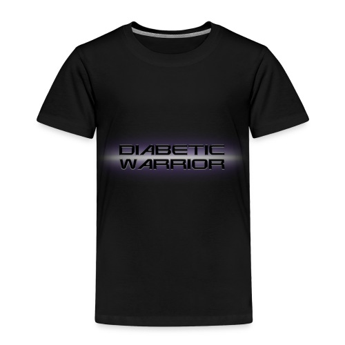 Diabetic Warrior In Space - Toddler Premium T-Shirt