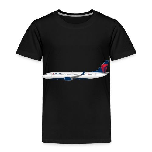 Delta Pooplines - Toddler Premium T-Shirt