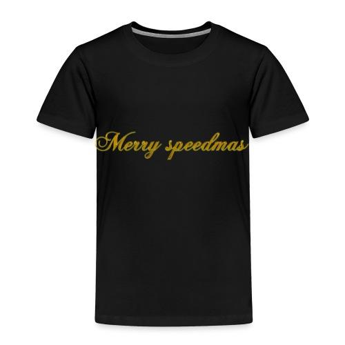 Merry speedmass christmas - Toddler Premium T-Shirt