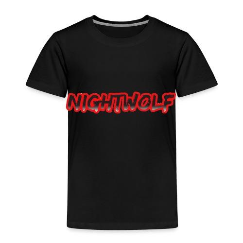 T-Shirt with Nightwolf Logo - Toddler Premium T-Shirt