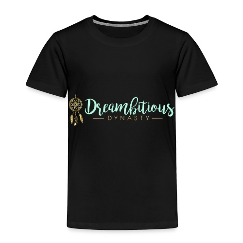 Dreambitious-Dynasty-Logo-MintGold_-1- - Toddler Premium T-Shirt