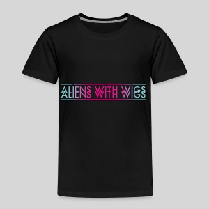 ALIENS WITH WIGS - Logo - Toddler Premium T-Shirt