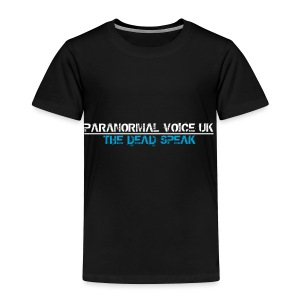 PARANORMAL VOICE UK +SIZE HOODY - Toddler Premium T-Shirt