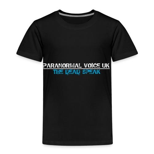 PARANORMAL VOICE UK +SIZE HOODY - Toddler Premium T-Shirt