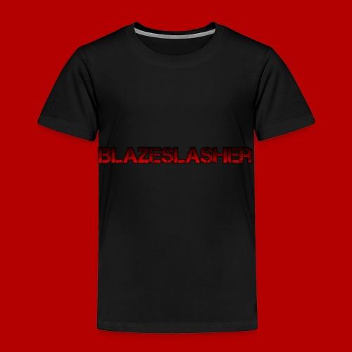 BlazeSlasger title - Toddler Premium T-Shirt