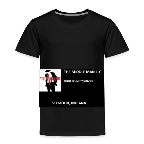 The Middle Man FDS Logo - Toddler Premium T-Shirt