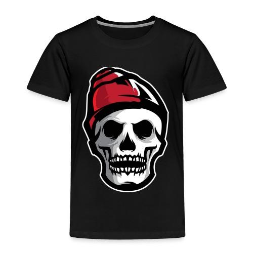 Custom Skull With Ice Cap Merch! - Toddler Premium T-Shirt