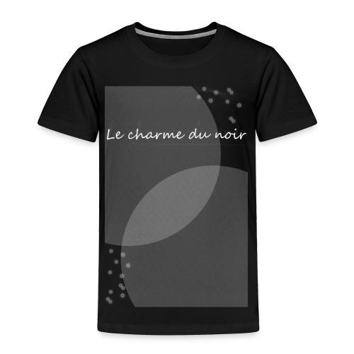 LE CHARME DU NOIR AMOUR - Toddler Premium T-Shirt