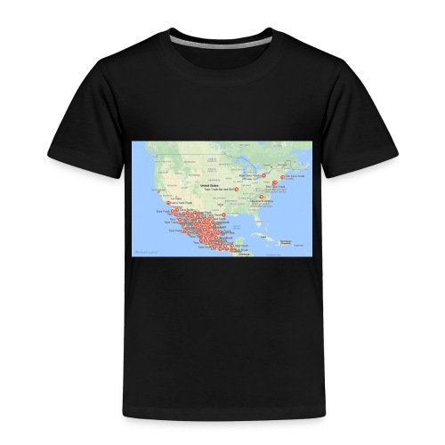 Taco_map - Toddler Premium T-Shirt