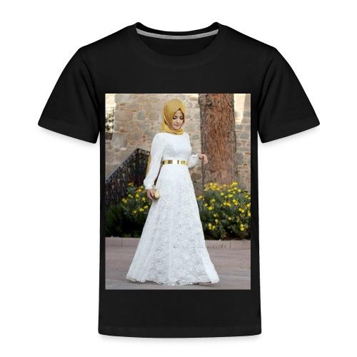 Muslim Hijab Girl - Toddler Premium T-Shirt