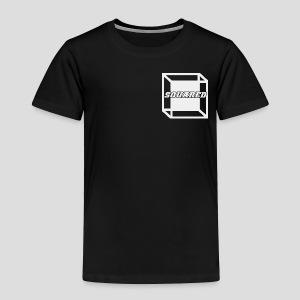 Squared Apparel White Logo - Toddler Premium T-Shirt
