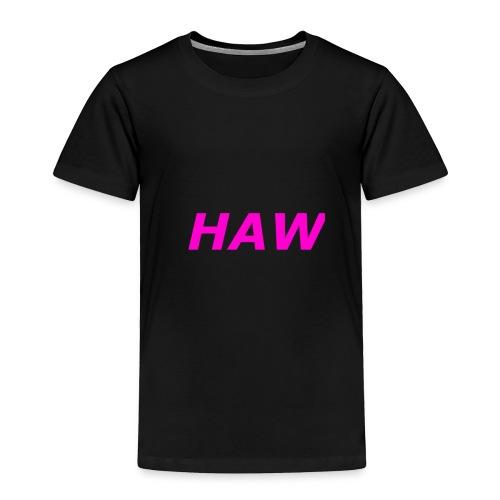 haw - Toddler Premium T-Shirt
