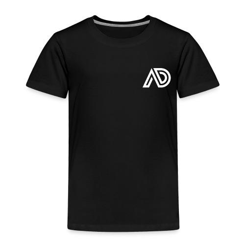 Basic White Logo - Toddler Premium T-Shirt
