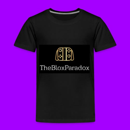 Logo Design - Toddler Premium T-Shirt
