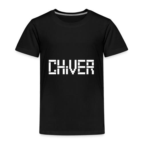 C(S)HiVER White logo - Toddler Premium T-Shirt
