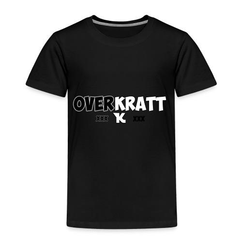 overkratt words and logo - Toddler Premium T-Shirt