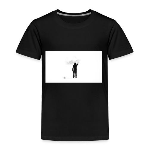 463034 men simple background digital art graffiti - Toddler Premium T-Shirt