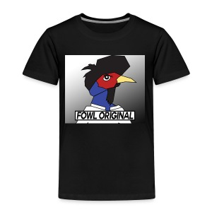 Fowl Original Logo - Toddler Premium T-Shirt