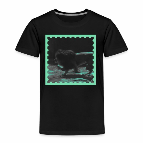 Lion on the prowl - Toddler Premium T-Shirt