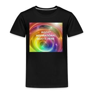 Insert rainbow here - Toddler Premium T-Shirt