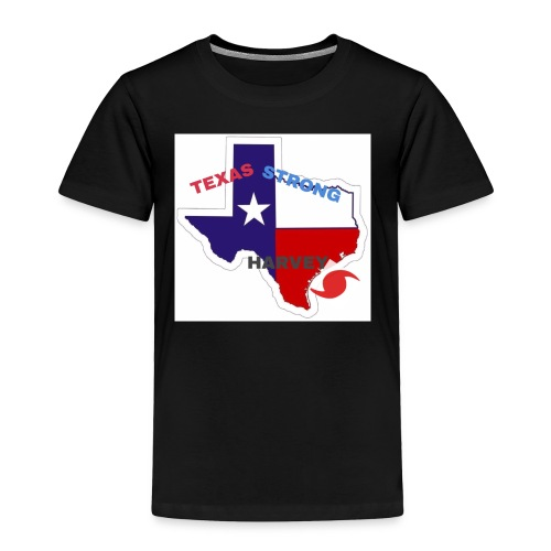 Hurricane Harvey Help - Toddler Premium T-Shirt