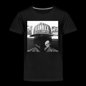freaker126 covered face black and white photo - Toddler Premium T-Shirt