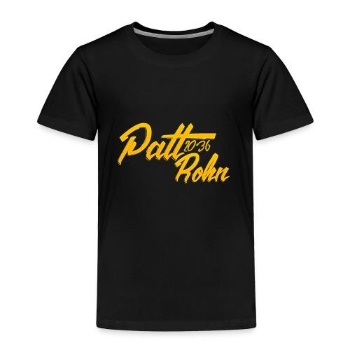 Patt Rohn 2036 Golden - Toddler Premium T-Shirt