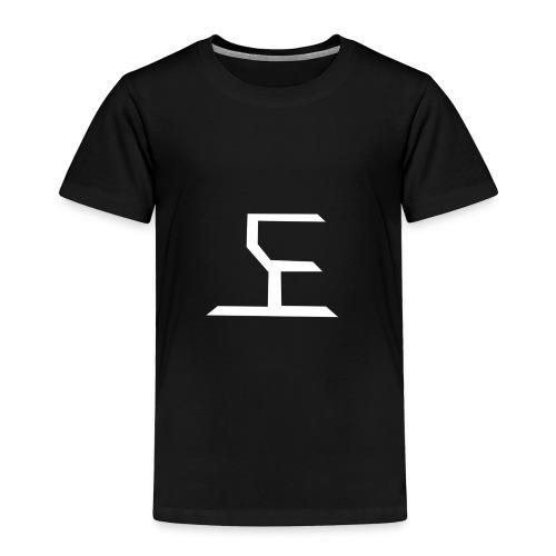 white SaKe logo - Toddler Premium T-Shirt