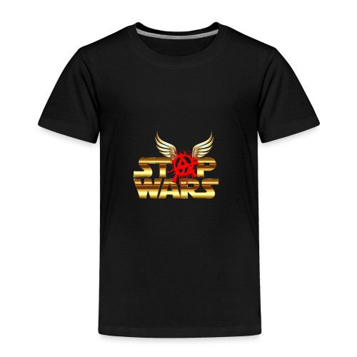 Stop Wars. Wing's and Anarchy - Toddler Premium T-Shirt