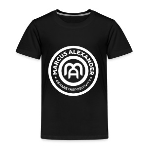 Marcus Alexander Official Logo - Toddler Premium T-Shirt