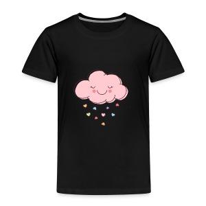 Raining Hearts - Toddler Premium T-Shirt