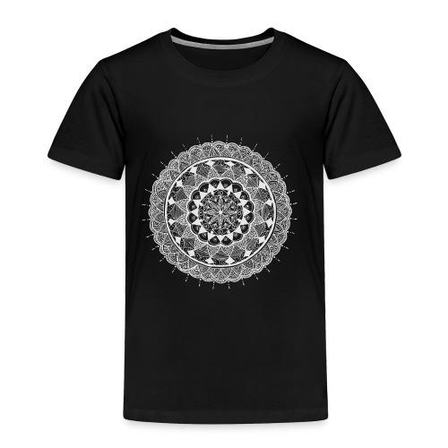 mandala white - new art - Toddler Premium T-Shirt