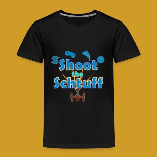 Official Shoot The Schtuff Logo - Toddler Premium T-Shirt