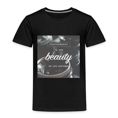 photograpy is beauty - Toddler Premium T-Shirt
