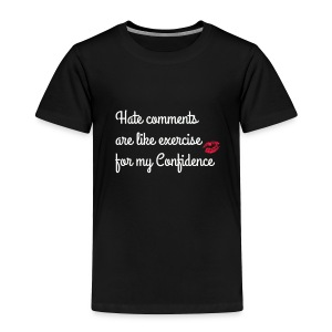 confidence - Toddler Premium T-Shirt