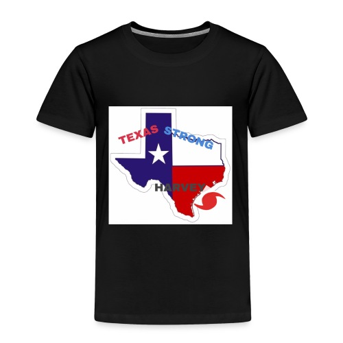 Hurricane Harvey Help - Toddler Premium T-Shirt