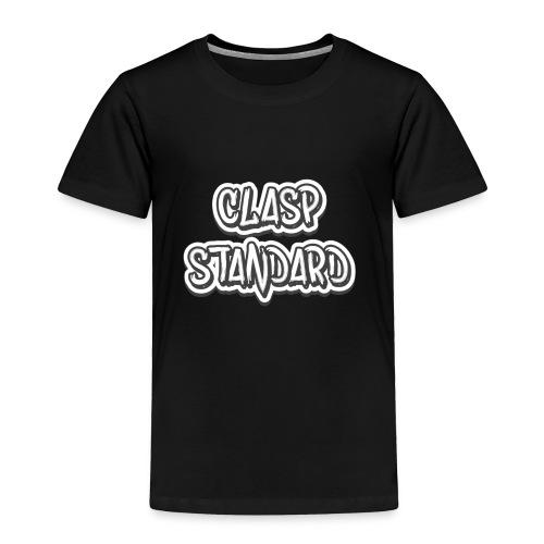 Clasp Apparel's Main Design - Toddler Premium T-Shirt