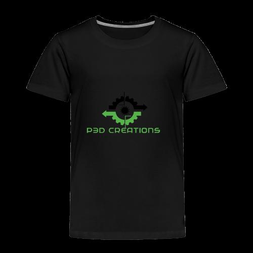 P3D Creations Logo - Toddler Premium T-Shirt
