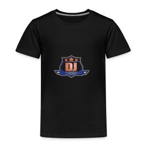 DJ_J_Soup_Blue - Toddler Premium T-Shirt