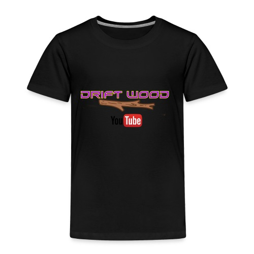 Drift Wood Official Merchandise WHITE - Toddler Premium T-Shirt