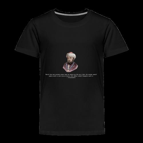 Maimonides shirt T-shirt jewish torah rabbi - Toddler Premium T-Shirt