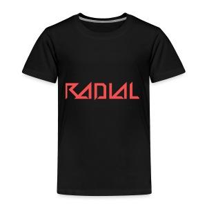 Radial_Shirt_Logo2 - Toddler Premium T-Shirt
