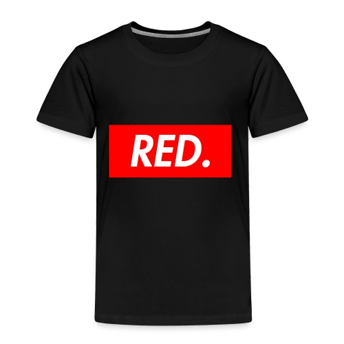 Red. - Toddler Premium T-Shirt