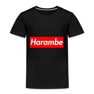 Harambe x Supreme Box Logo - Toddler Premium T-Shirt
